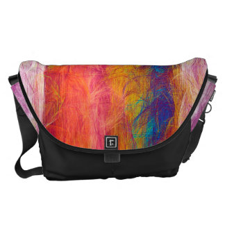 Abstract Colorful Pastel Pattern Courier Bags