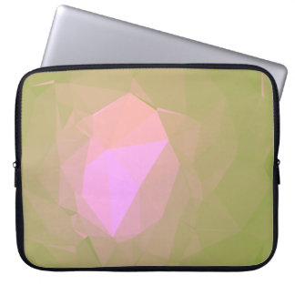 Abstract & Colorful Pattern Design - Dusk Garden Laptop Sleeve