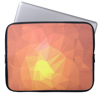 Abstract & Colorful Pattern Design - Earth Core Laptop Sleeve