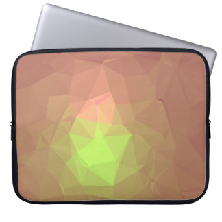 Abstract & Colorful Pattern Design - Garden Fresh Laptop Sleeve