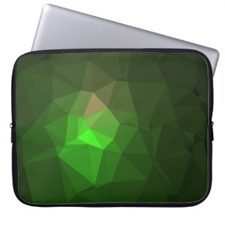 Abstract & Colorful Pattern Design - Green Lantern Laptop Sleeve