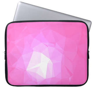 Abstract & Colorful Pattern Design - Hot Head Laptop Sleeve