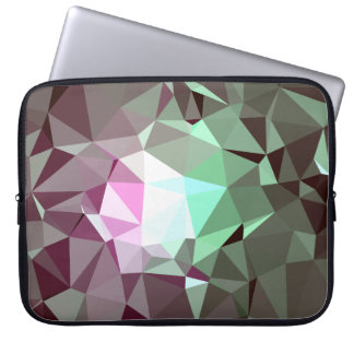 Abstract & Colorful Pattern Design - Manor Brick Laptop Sleeve
