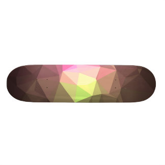 Abstract & Colorful Pattern Design - Message Hope 18.1 Cm Old School Skateboard Deck