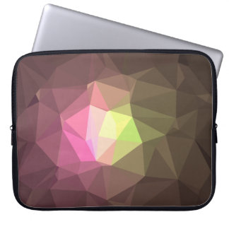 Abstract & Colorful Pattern Design - Message Hope Laptop Sleeve