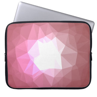 Abstract & Colorful Pattern Design - Rose Shine Laptop Sleeve