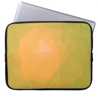 Abstract & Colorful Pattern Design - Wild Tangy Laptop Sleeve