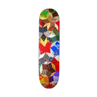 Abstract Colorful Pattern Custom Skate Board