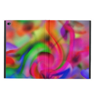 abstract colorful poppies powis iPad air 2 case