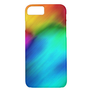 Abstract Colorful Rainbow Tie Dye iPhone 8/7 Case