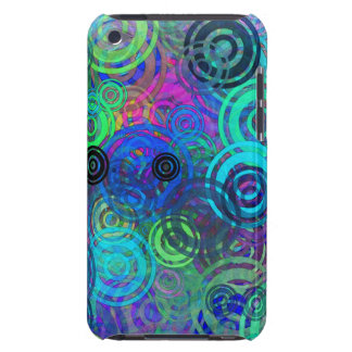 Abstract Colorful Rings iPod Touch Case