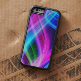 Abstract Colorful Smoke Tough Xtreme iPhone 6 Case