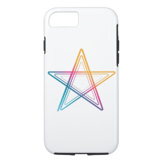 Abstract colorful star iPhone 8/7 case