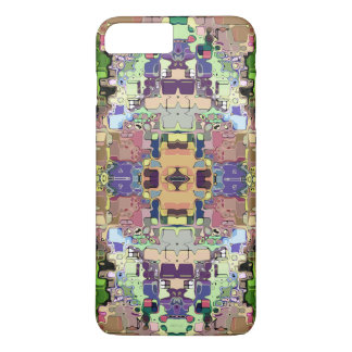 Abstract Colorful Symmetrical iPhone 7 Plus Case