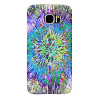 Abstract Colorful Tie Dye Samsung Galaxy S6 Cases