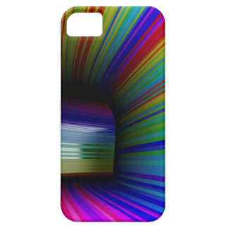 Abstract colorful tunnel case for the iPhone 5