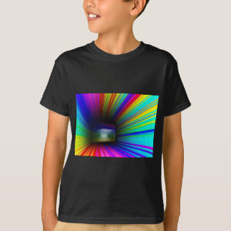 Abstract colorful tunnel T-Shirt