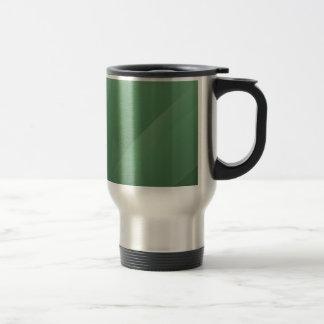 Abstract Colors Aqua Grass Coffee Mug