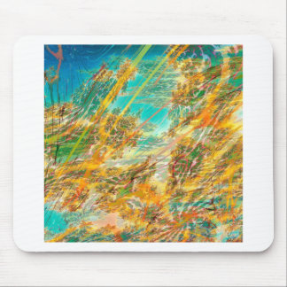 Abstract Colors Autumn Skies Mousepads