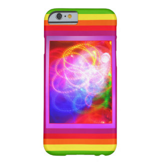Abstract Colors Barely There iPhone 6 Case