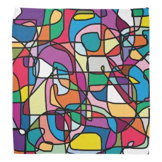 Abstract Colors Doodle Bandana