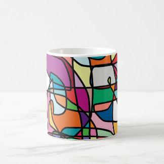 Abstract Colors Doodle Mug