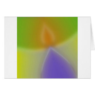 Abstract Colors Invaders Greeting Cards