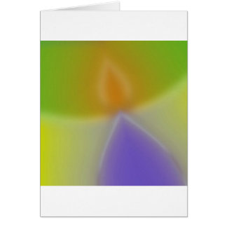 Abstract Colors Invaders Cards