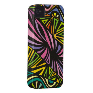 Abstract Colors iPhone 4 Covers