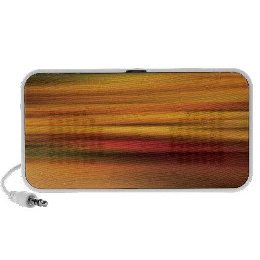 Abstract Colors Jockeys Scramble Travelling Speakers