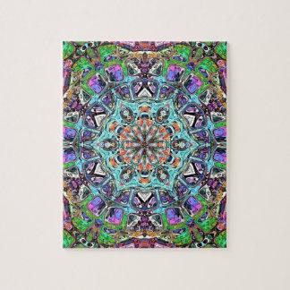 Abstract Colors Mandala 2 Puzzle