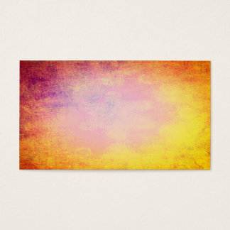 Abstract colors of summer sun business card