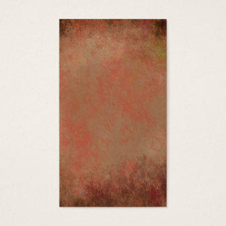 Abstract colors of the a gum tree business card