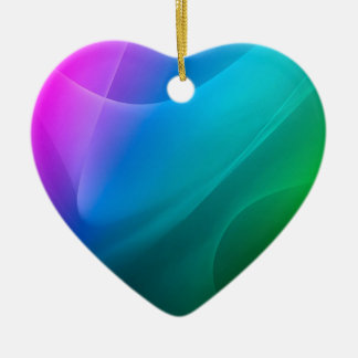Abstract Colors Rainbow Classic Christmas Ornaments