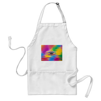 abstract colors splash of color standard apron