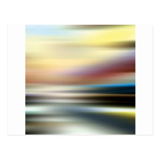 Abstract Colors The Endless Room Postcard