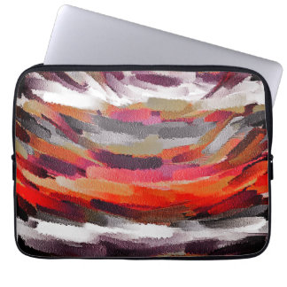 Abstract Colour Art #3 Laptop Sleeve