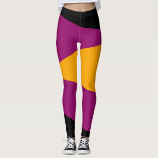 Abstract Colour Leggings