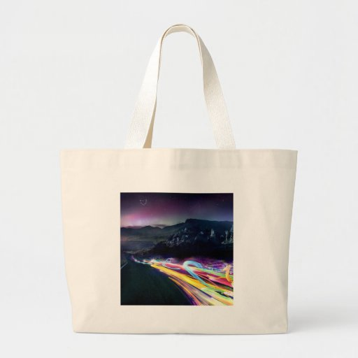 Abstract Colours Northern Lights Road Bag
