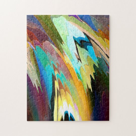 Abstract Colours Puzzle