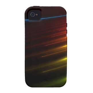 Abstract Colours Ray Of Lights Vibe iPhone 4 Cover
