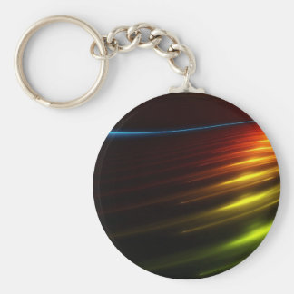 Abstract Colours Ray Of Lights Keychains