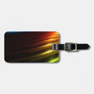 Abstract Colours Ray Of Lights Tags For Bags
