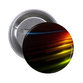 Abstract Colours Ray Of Lights Pinback Button