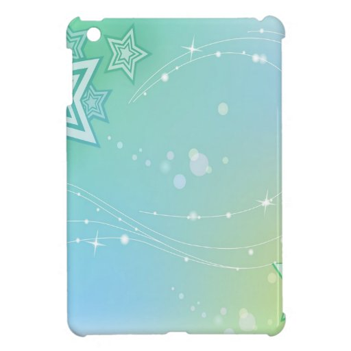 Abstract Colours Stars Cover For The iPad Mini