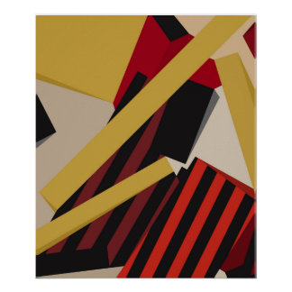 Abstract composition 475 poster
