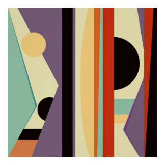 Abstract composition 517 poster