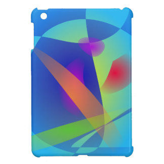 Abstract Composition Light Blue Case For The iPad Mini
