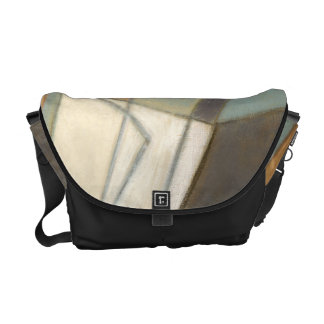 Abstract Composition with Muted Colors Commuter Bags