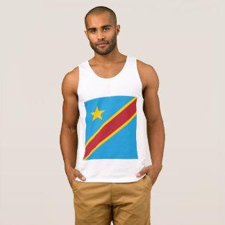 Abstract Congo Flag, Democratic Republic of Congo Singlet
